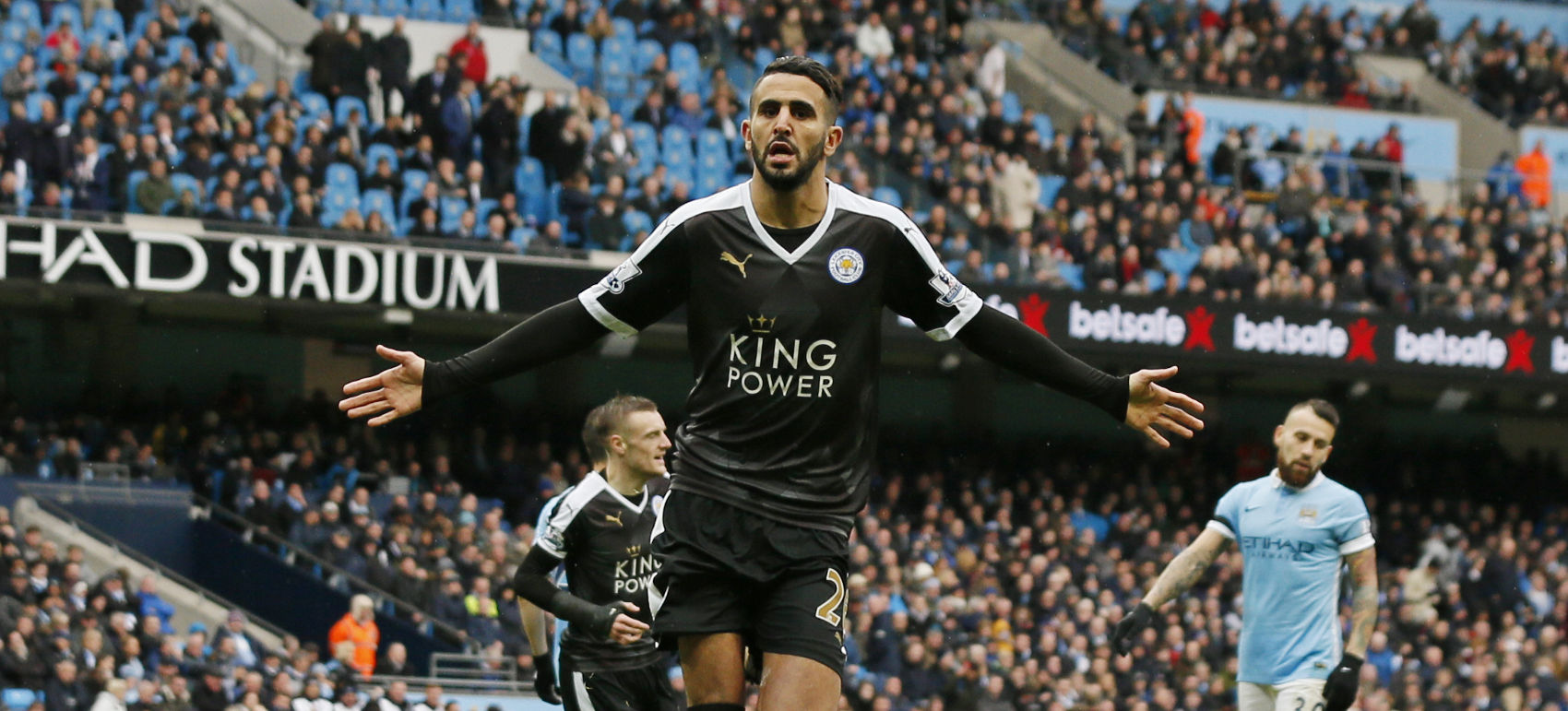 → What was Riyad Mahrez's bargain FPL starting price in Leicester City's title-winning season?