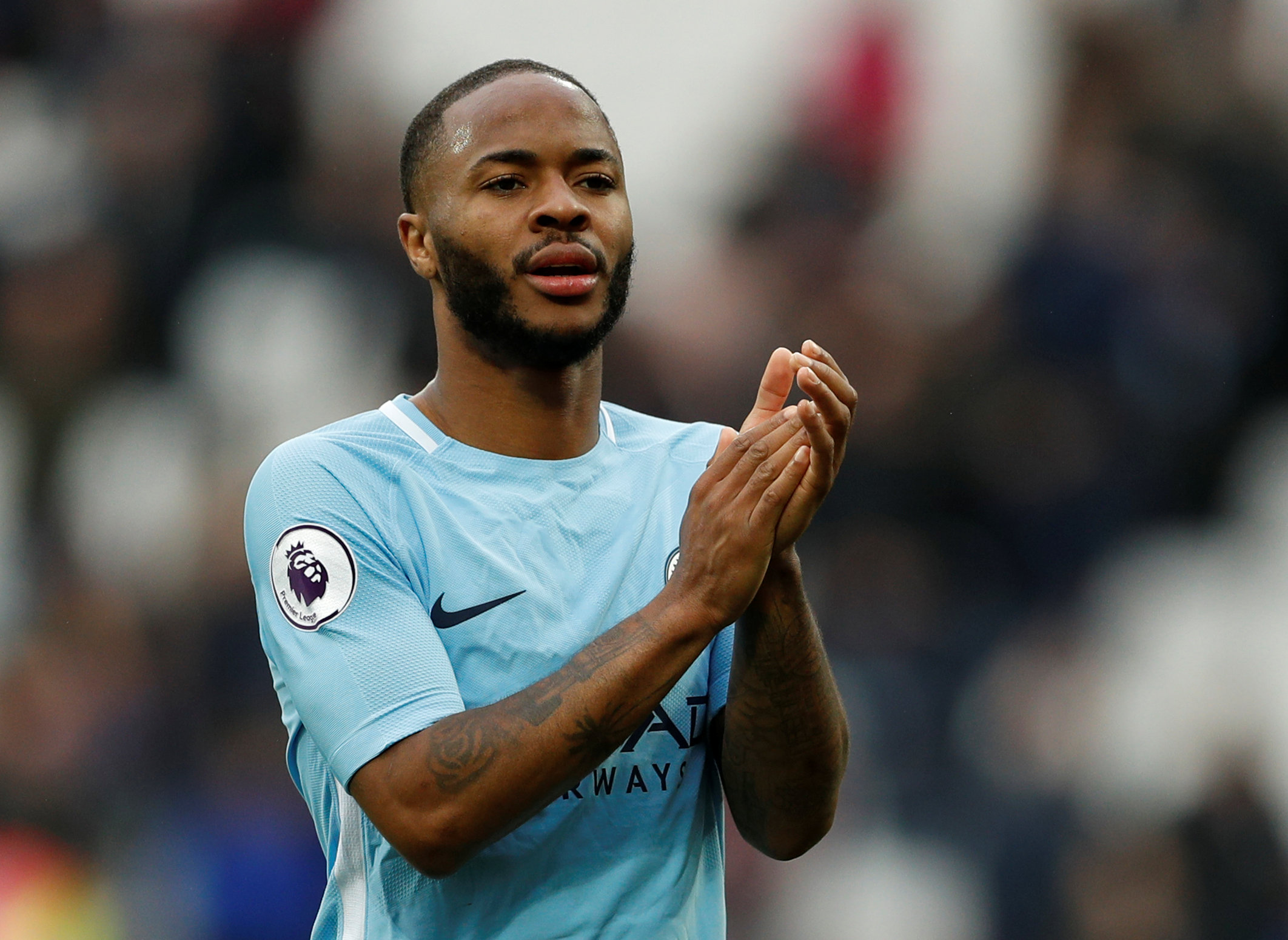 → Raheem Sterling was second only to Mohamed Salah for FPL points in 2017/18. What was his starting price?