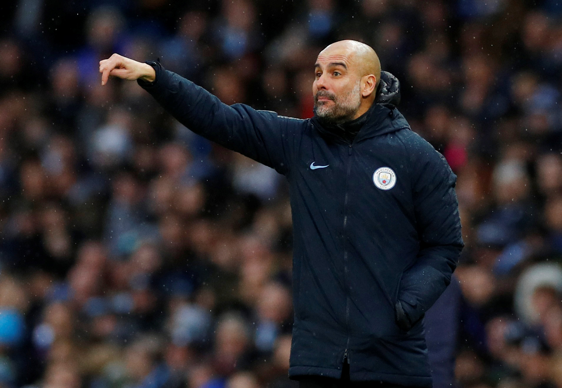 → Who was the highest-scoring Man City player (in terms of overall FPL points) in Pep Guardiola's first season in charge at the Etihad?