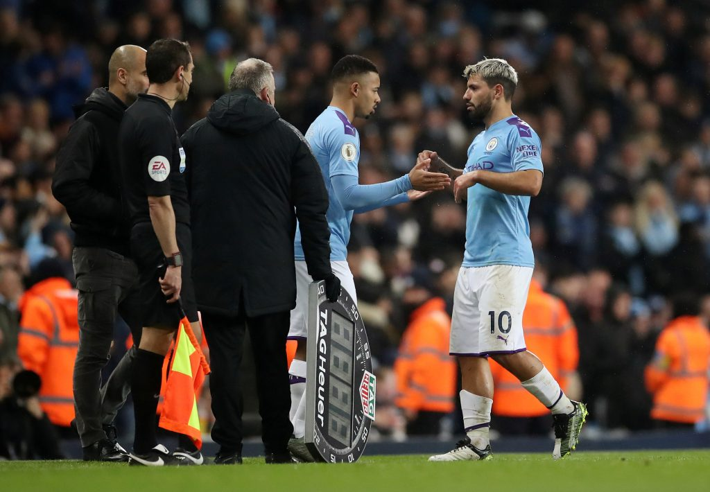 Injury worry for Aguero's owners as Sterling is frustrated by VAR call