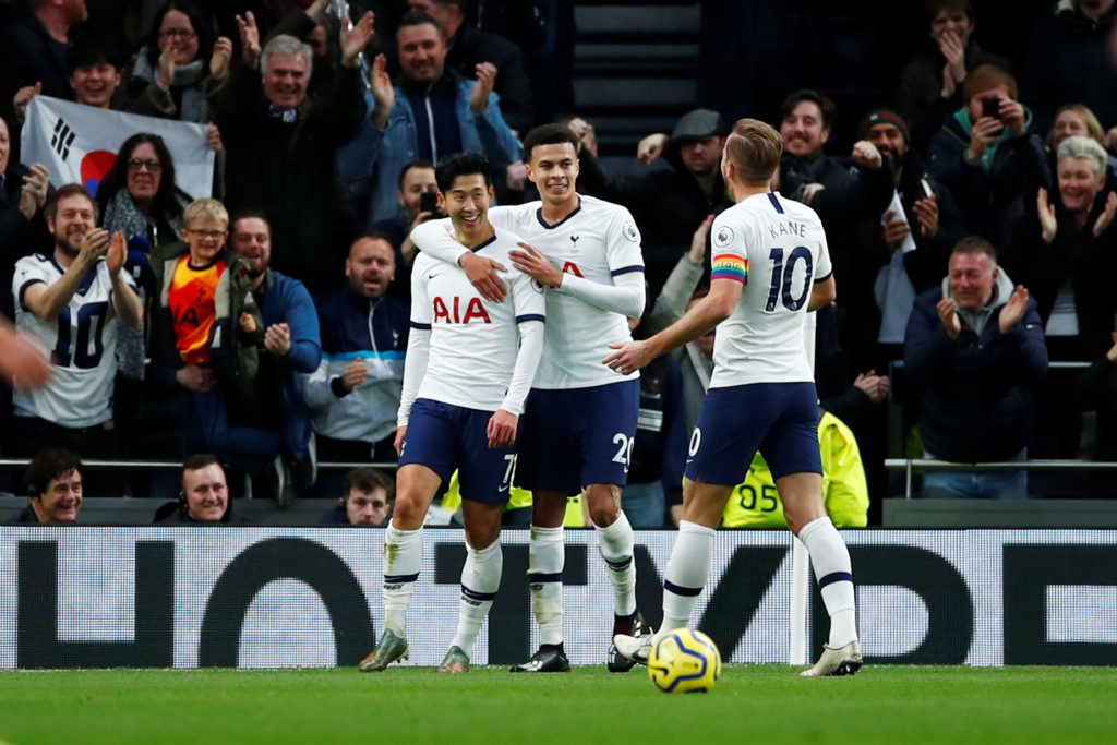 Kane, Son and Alli continue blistering start to Mourinho's reign