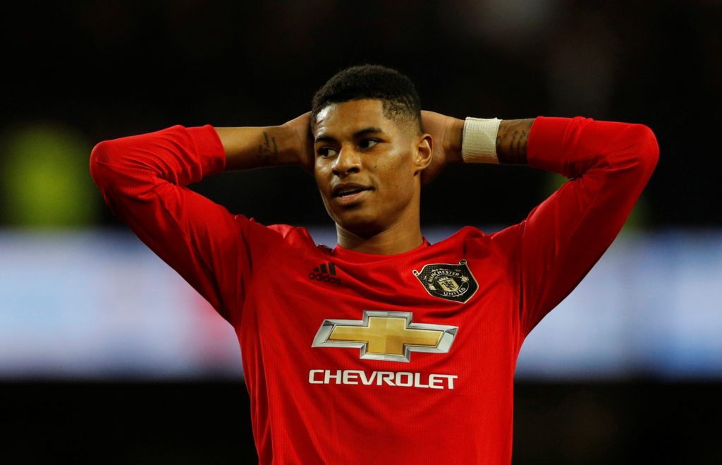 A rare home blank for Rashford as United struggle again against also-rans