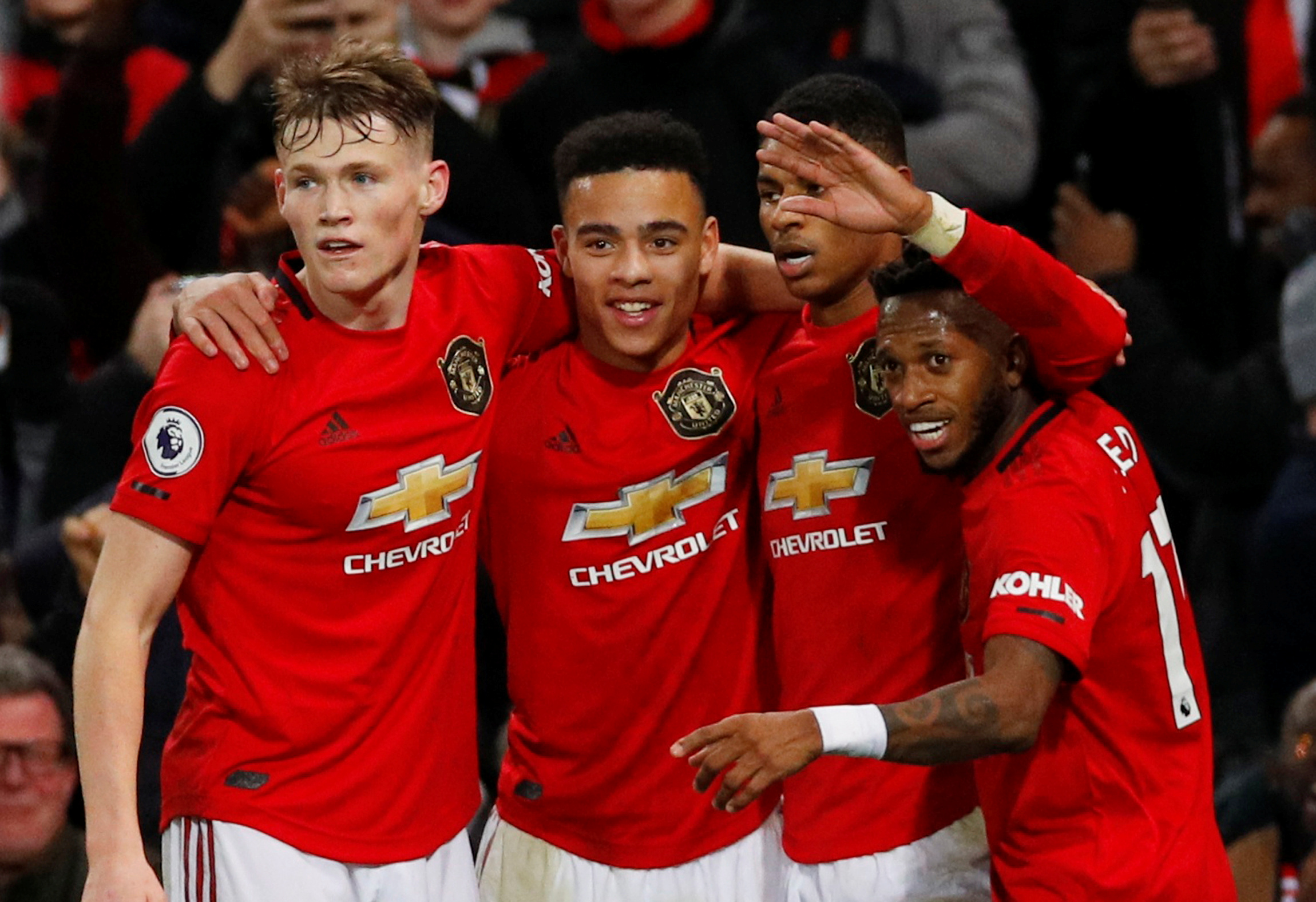 Rashford and Martial reward patience in big win over Newcastle