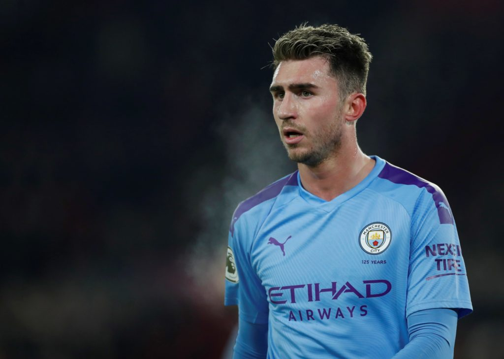 → How many FPL points did Aymeric Laporte register across Manchester City's three Double Gameweeks?