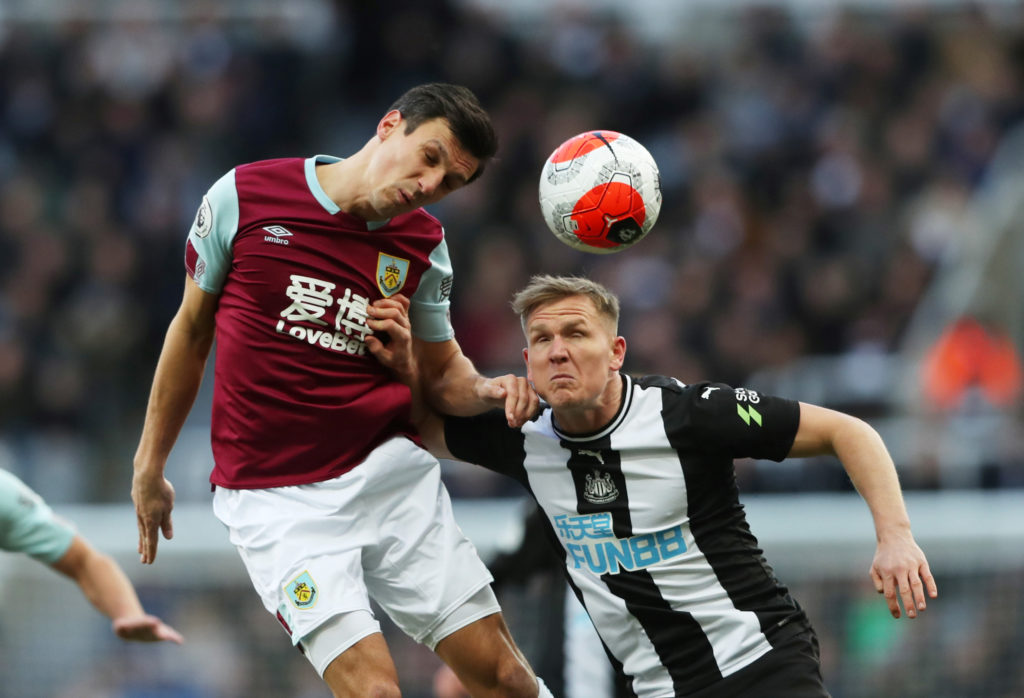 Defensive returns continue for Burnley as Ritchie plays out-of-position