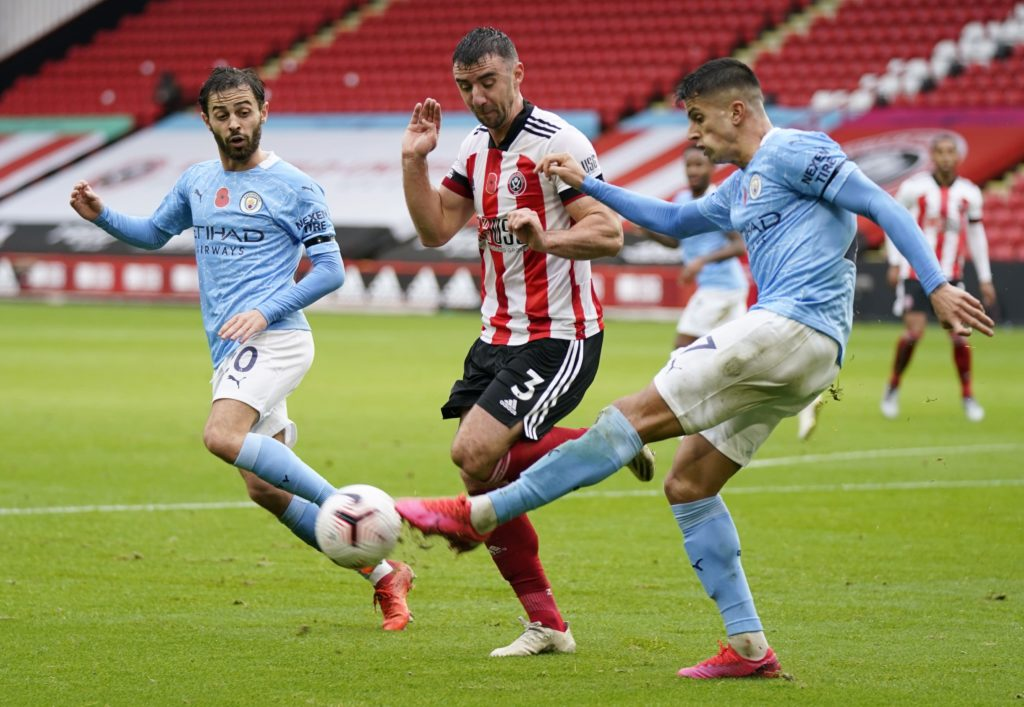 Cancelo stars for City as Sheff Utd's weak right-side bodes well for Chelsea