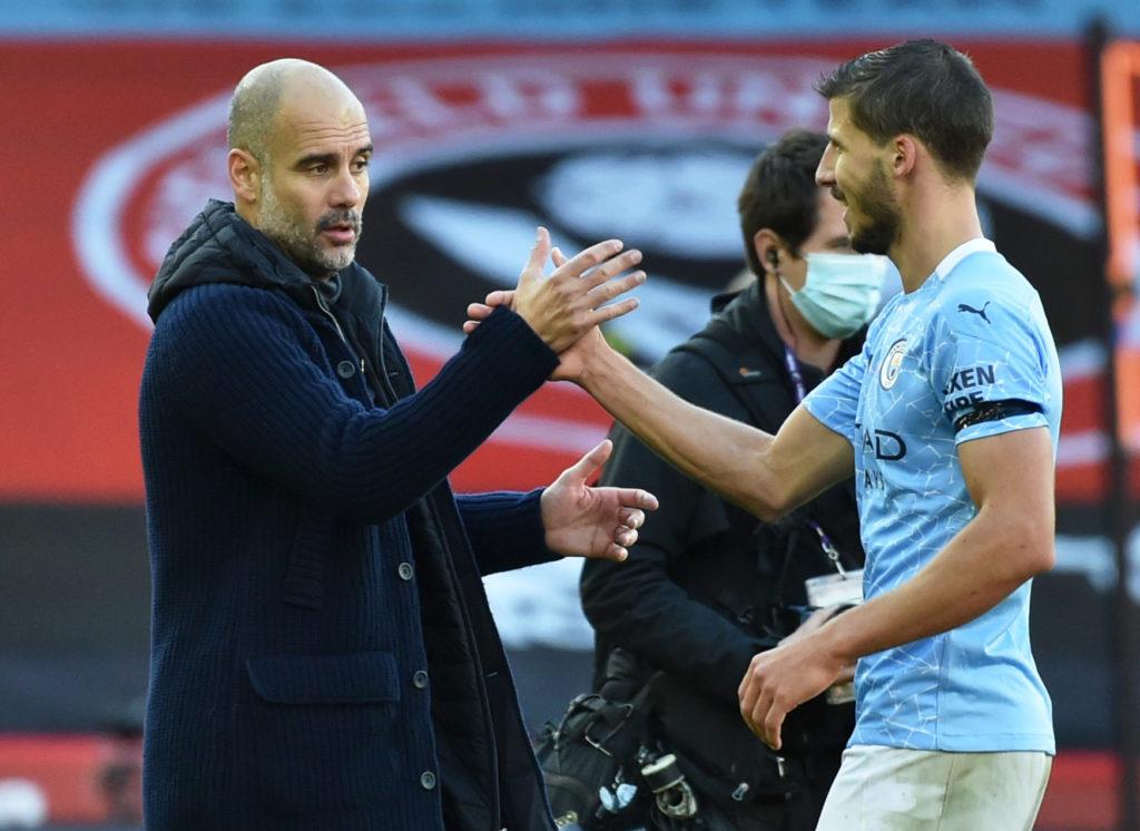 Dias named alongside returning Aguero on Man City bench