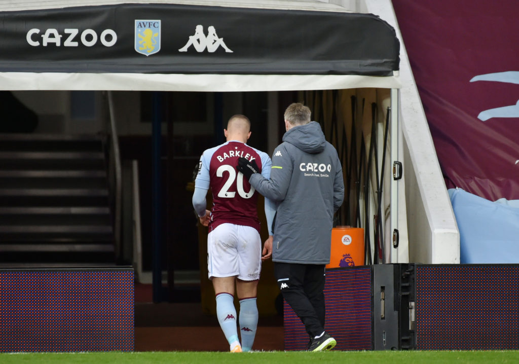How Barkley's injury impacted Grealish and Watkins against Brighton