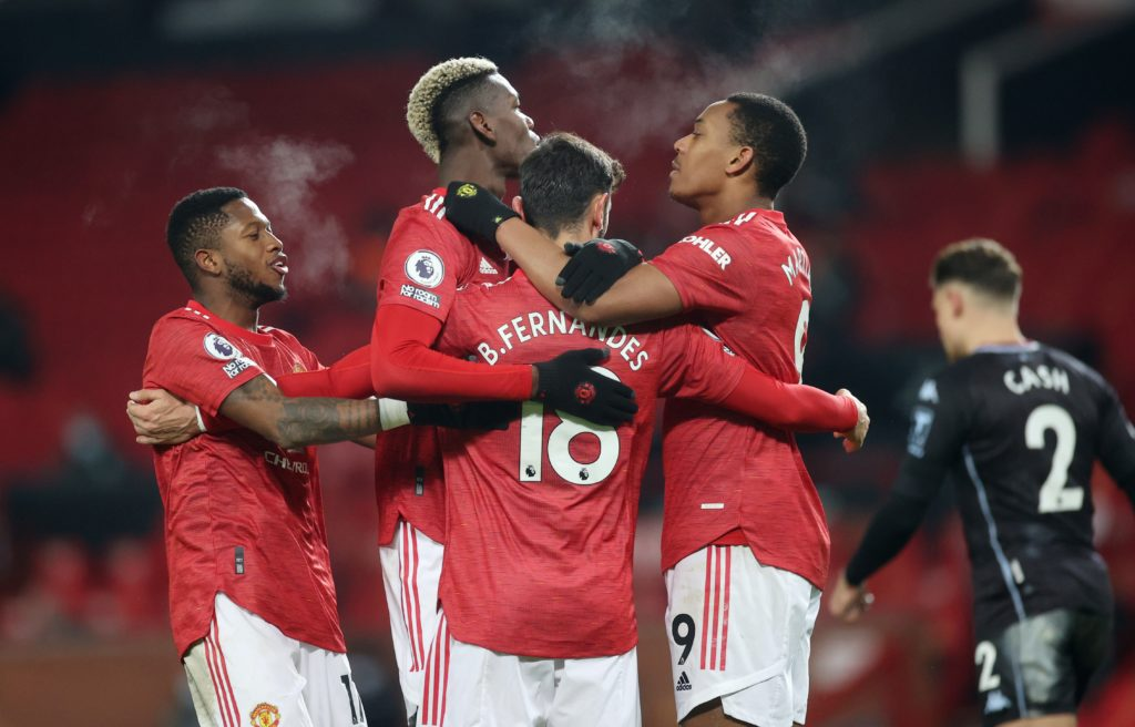 Fernandes scores again as new Pogba role pushes Rashford to the right