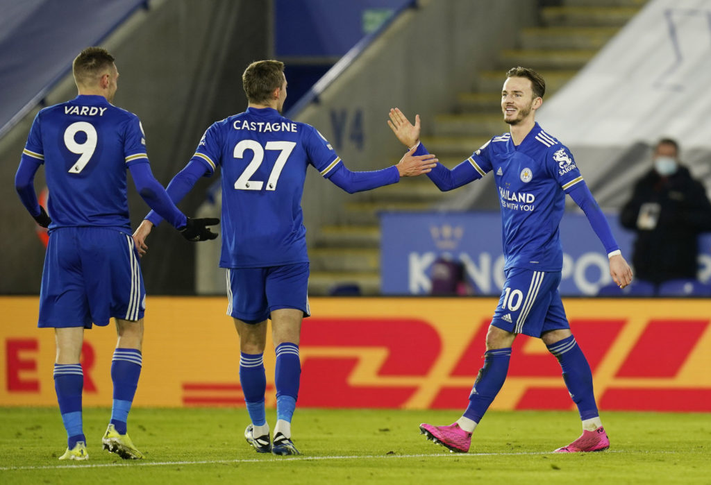 Maddison outshining Vardy as Pereira returns for Leicester