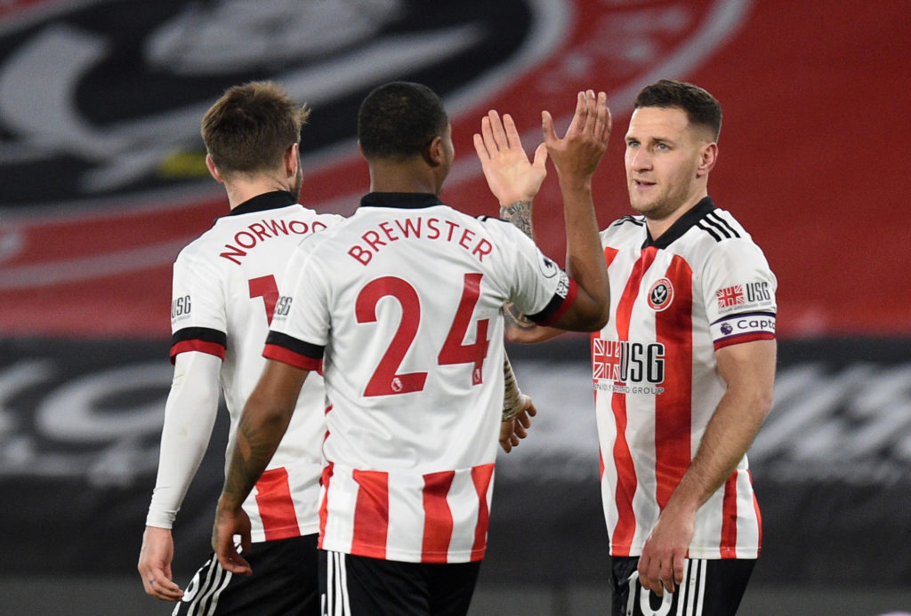 Blades defence finally records clean sheet as Wilson blanks again 4