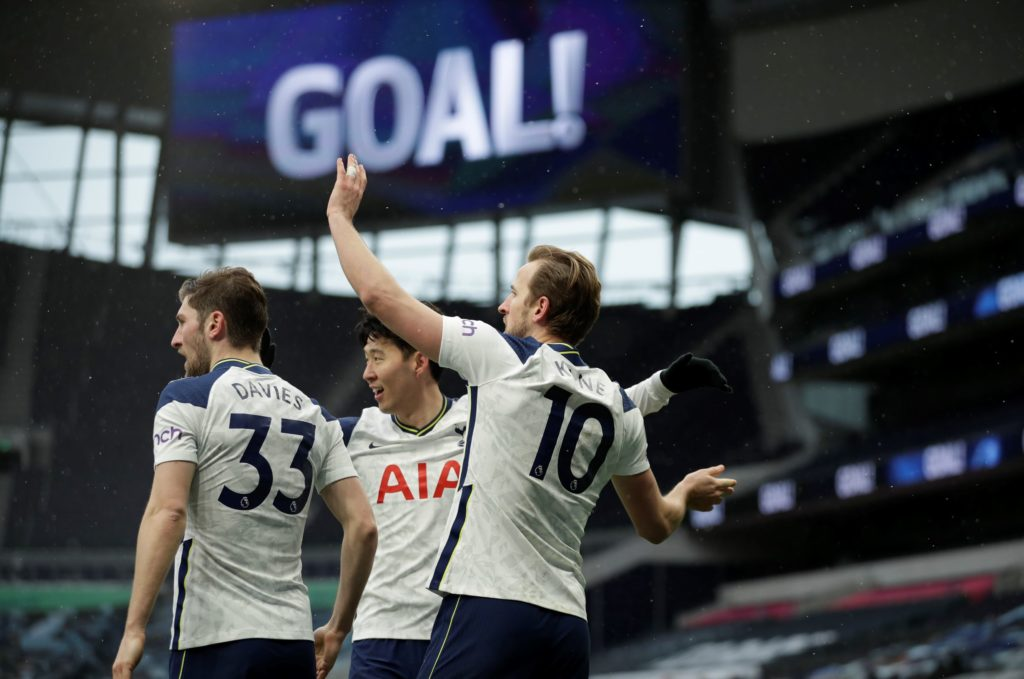 Kane makes immediate impact on Spurs return as Son breaks goal drought