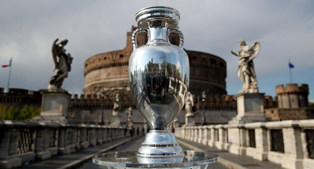 This image has an empty alt attribute; its file name is 2021-04-20T152115Z_1054295465_UP1EH4K16NC5F_RTRMADP_3_SOCCER-EURO-TROPHY-ITALY-min-1024x553.jpg