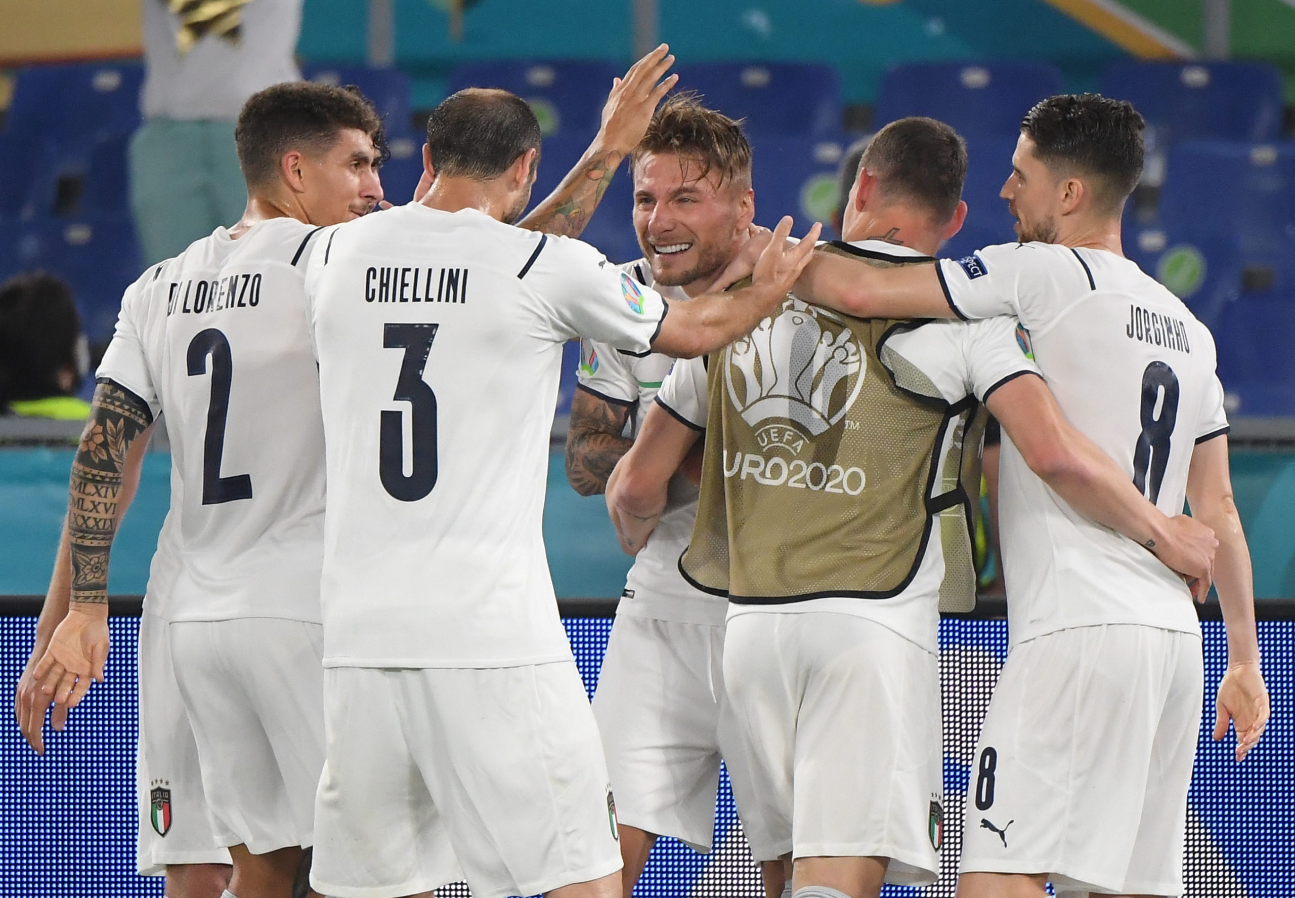 Berardi, Insigne, Immobile, Spinazzola rotated for Italy's Matchday 3 clash with Wales