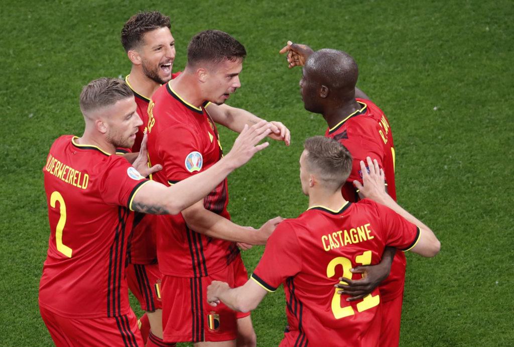 Belgium lead Russia after Finland beat Denmark