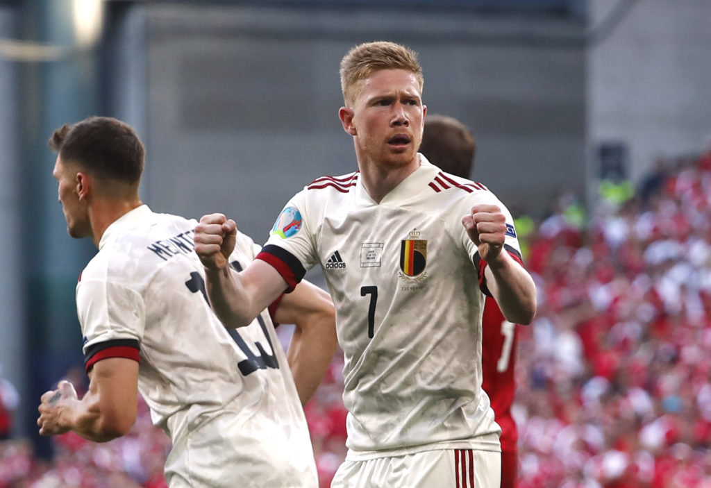 De Bruyne stars in Belgium comeback as Red Devils advance to knockout stages