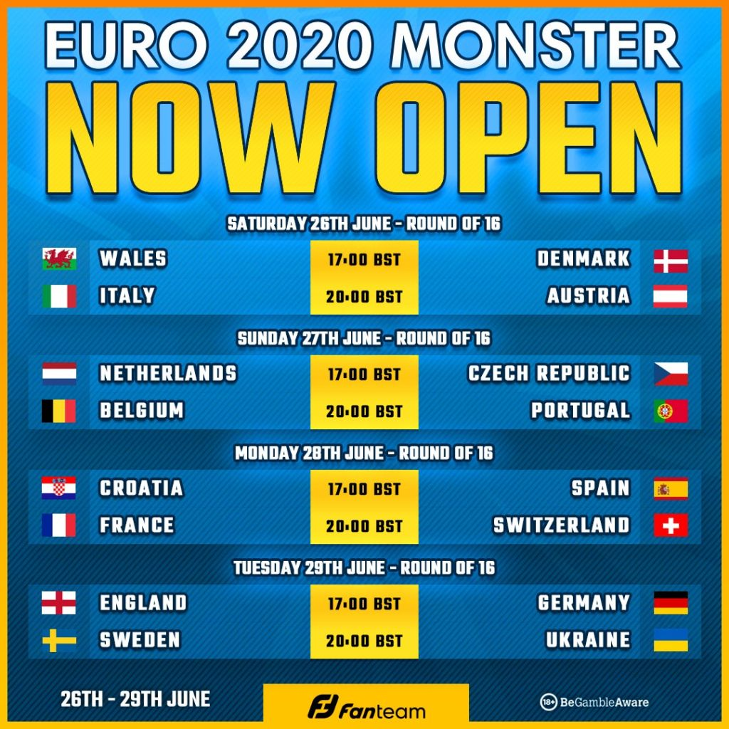 Scout's picks for FanTeam's EURO 2020 Mini-Monster - and how to play for free