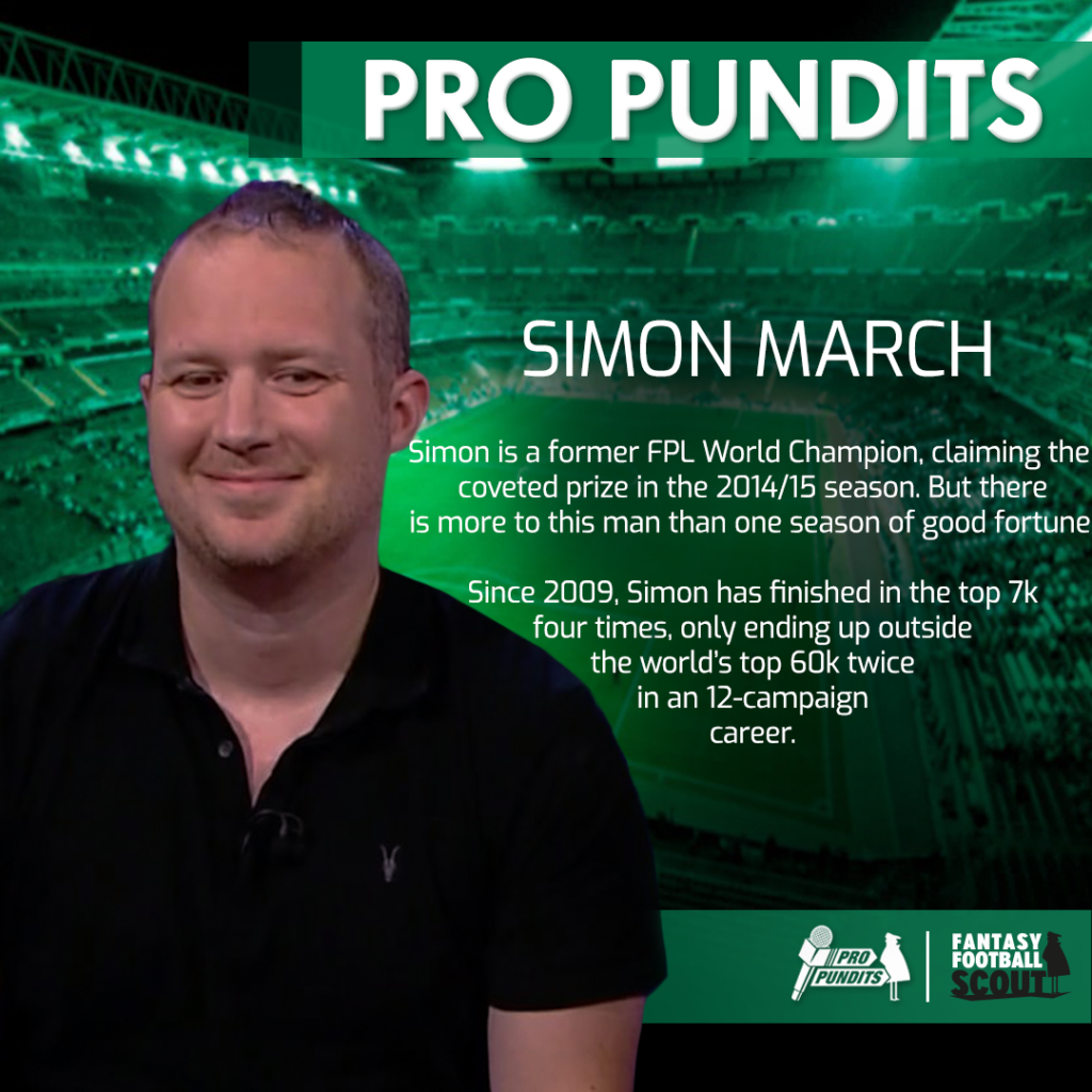 Ex-FPL winner Simon March: How to avoid getting carried away with your GW1 picks