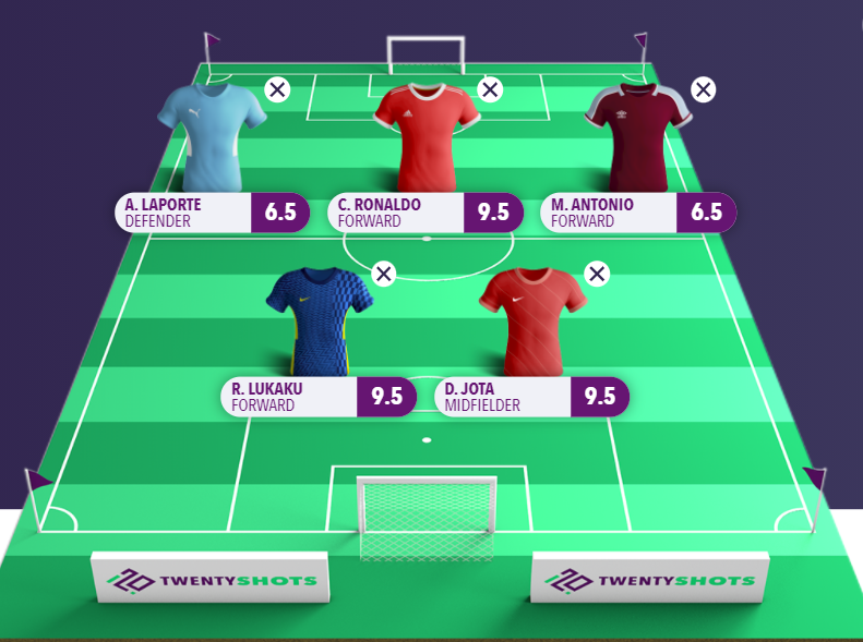 Win £10,000 for free with Fantasy5 by picking the best players for Gameweek 4 1